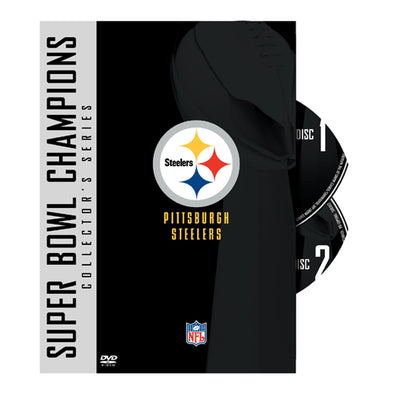 NFL Super Bowl Collection: Pittsburgh Steelers DVD