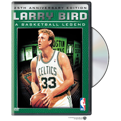 NBA Larry Bird A Basketball Legend: 25th Anniversary Collector's Edition DVD