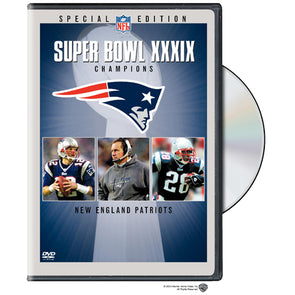 NFL Super Bowl XXXIX: New England Patriots DVD