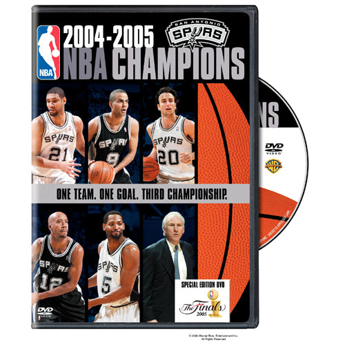 NBA Champions 2005: San Antonio Spurs DVD