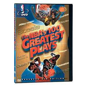 NBA 100 Greatest Plays DVD