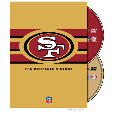 NFL History of the San Francisco 49ers DVD