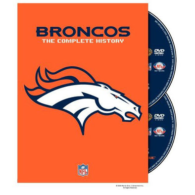 NFL History of the Denver Broncos DVD