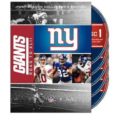 NFL New York Giants: Road to Super Bowl XLII DVD