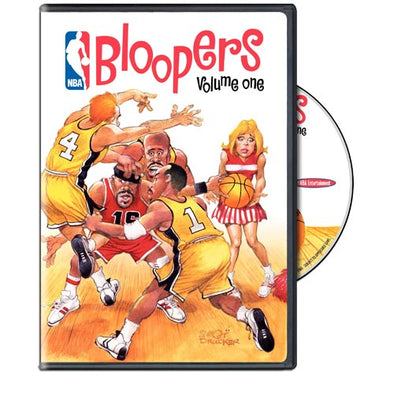NBA Bloopers Volume 1 DVD