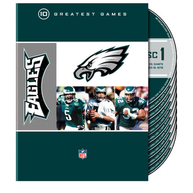 NFL Philadelphia Eagles: 10 Greatest Games DVD