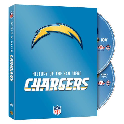 NFL History of San Diego Chargers DVD