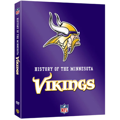 NFL History of the Minnesota Vikings DVD