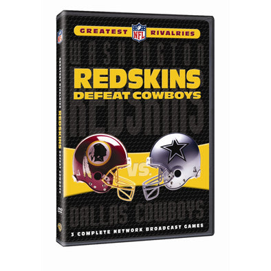 NFL Greatest Rivalries: Washington Redskins vs. Dallas Cowboys (Redskins Defeat Cowboys) DVD