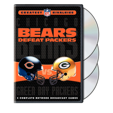 NFL Greatest Rivalries: Chicago Bears vs. Green Bay Packers (Bears Defeat Packers) DVD