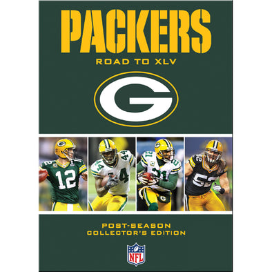 NFL Green Bay Packers: Road to XLV DVD