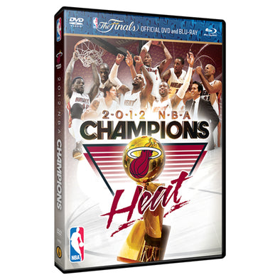 2012 NBA Championship Highlights DVD & Blu-Ray™ Combo