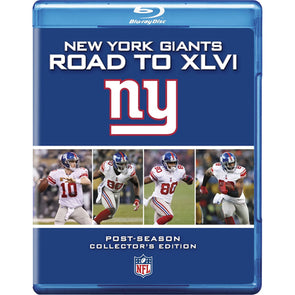 NFL New York Giants: Road to XLVI Blu-Ray™