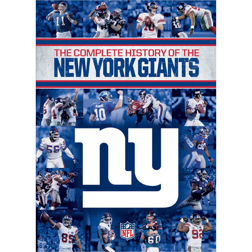 NFL Complete History of the New York Giants DVD