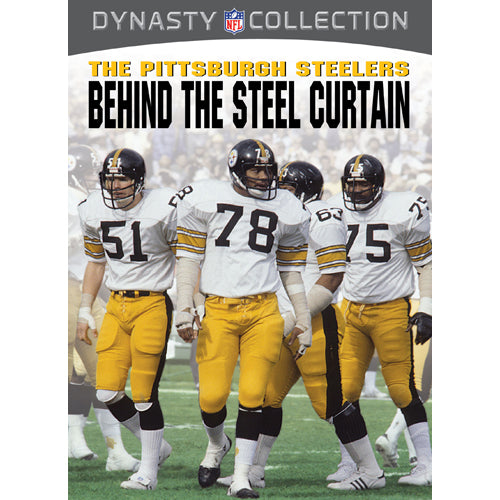 NFL Dynasty Collection The Pittsburgh Steelers: Behind the Steel Curtain DVD