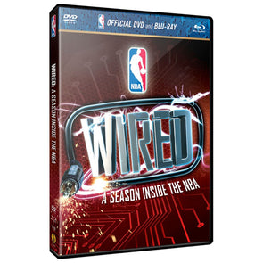 Wired: A Season Inside the NBA DVD & Blu-Ray™ Combo