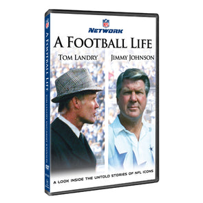 NFL A Football Life: Tom Landry & Jimmy Johnson DVD