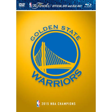 2015 NBA Champions: Golden State Warriors Highlights DVD & Blu-Ray™ Combo