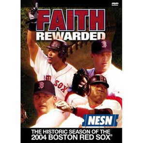 Faith Rewarded: The Historic Season of the 2004 Red Sox DVD