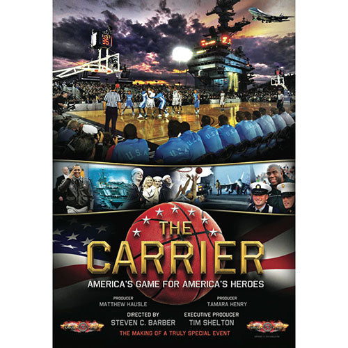 The Carrier: North Carolina vs. Michigan State DVD