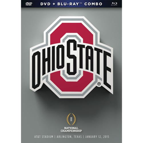 2015 National Championship: Ohio State Buckeyes College Football Playoff DVD & Blu-Ray™ Combo