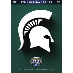 2015 Goodyear Cotton Bowl: Michigan State Spartans DVD & Blu-Ray™ Combo