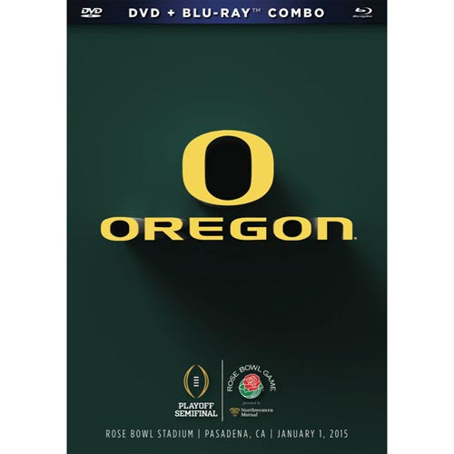 2015 Northwestern Mutual Rose Bowl: Oregon Ducks DVD & Blu-Ray™ Combo