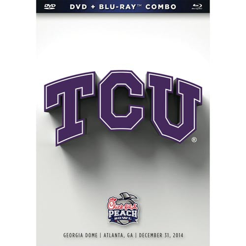 2015 Chick-Fil-A Peach Bowl: TCU Horned Frogs DVD & Blu-Ray™ Combo