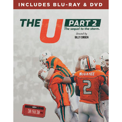 ESPN Films 30 for 30: The U Part 2 DVD & Blu-Ray™ Combo