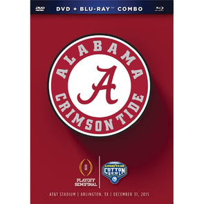 2016 Goodyear Cotton Bowl: Alabama Crimson Tide DVD & Blu-Ray™ Combo