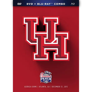 2016 Chick-fil-A Peach Bowl Houston Cougars DVD & Blu-Ray™ Combo