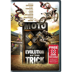 MOTO X: Evolution of the Trick DVD