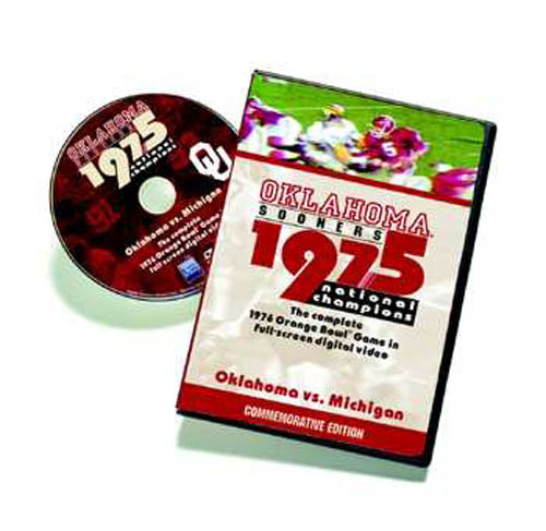 1976 Orange Bowl: Oklahoma vs. Michigan DVD