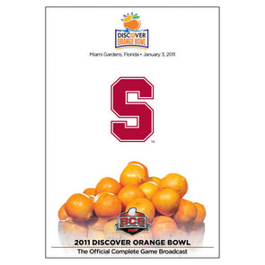Official 2011 Discover Orange Bowl DVD