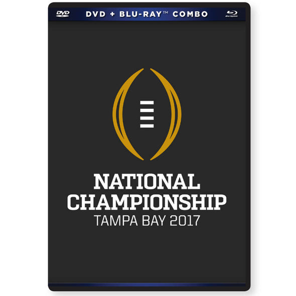 2016-17 College Football Playoff National Championship Game DVD & Blu-Ray™ Combo