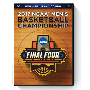 2017 NCAA Men's Basketball Championship DVD & Blu-Ray™ Combo