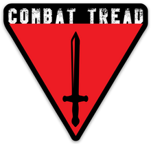 Load image into Gallery viewer, Combat Tread Logo Sticker