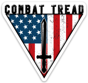 Combat Tread Logo Sticker