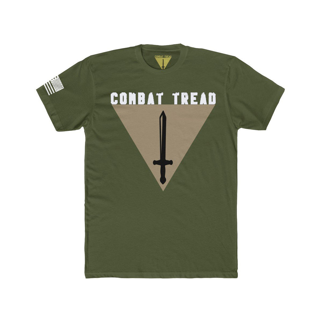 Combat Tread Military Green Tee