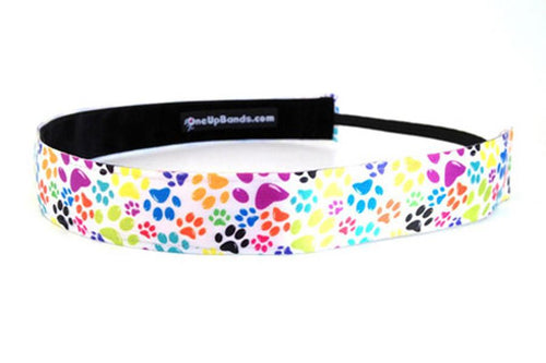 Rainbow Paws Headband