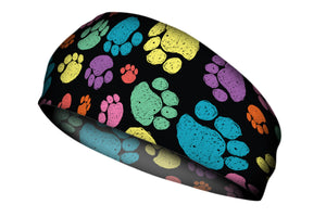 Color Paws Stretch Head Band