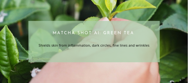 Matcha Shot Featured AI