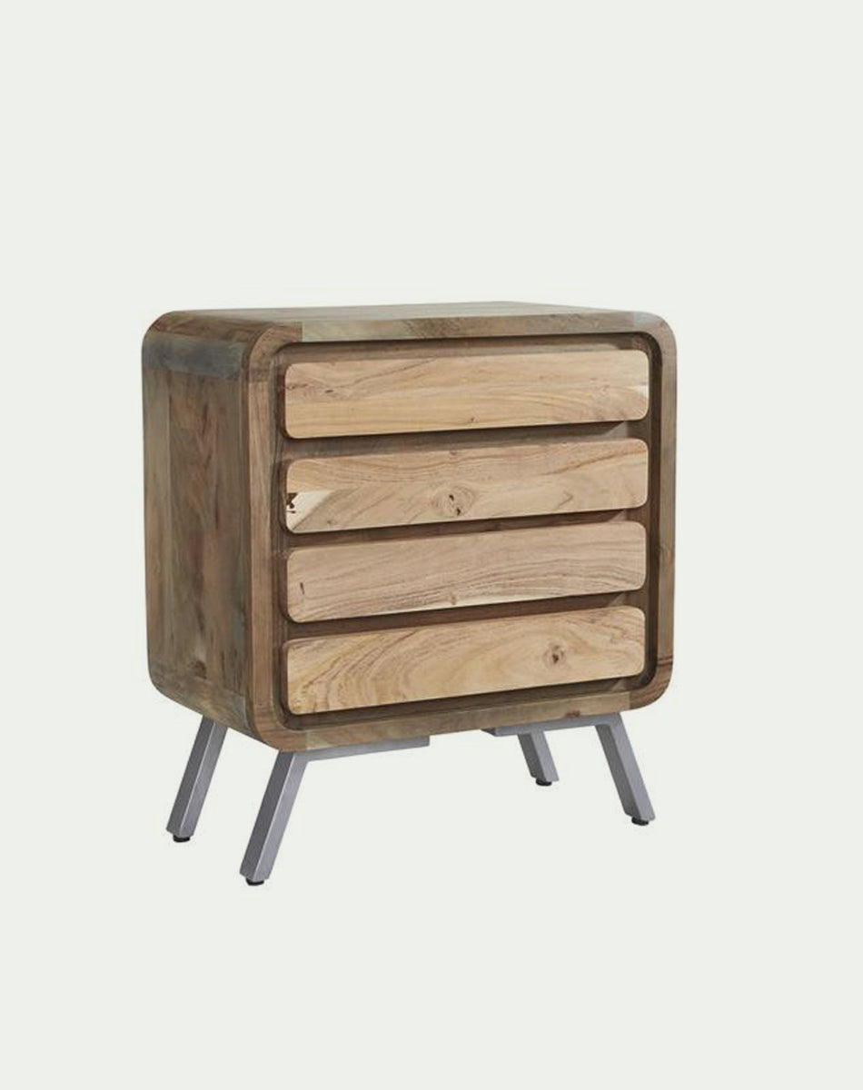 Aspen 4 Drawer Wide Chest