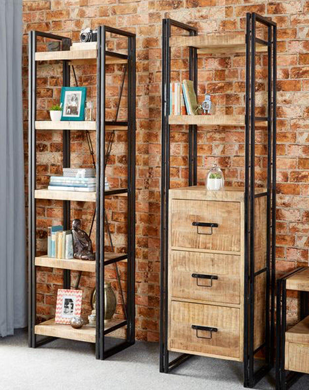 Cosmo Slim Bookcase