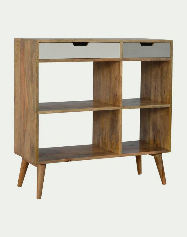 Finn Bookcase with 2 Drawers