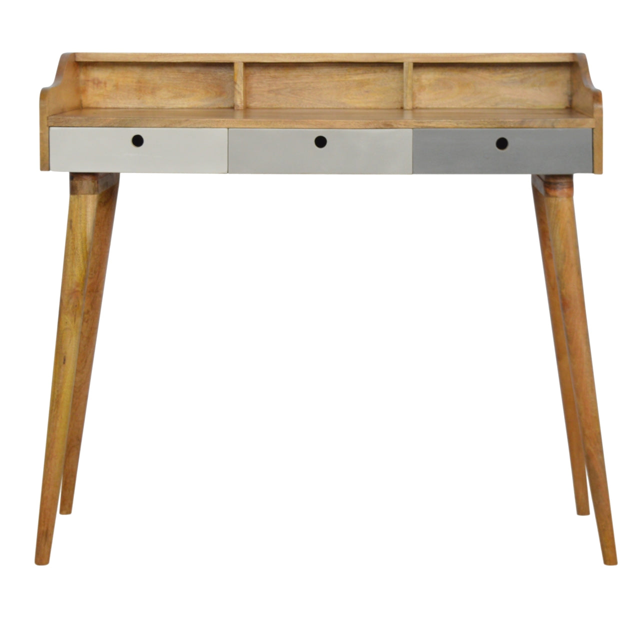 Finn grey writing desk from Mocha Home UK 8906057240258