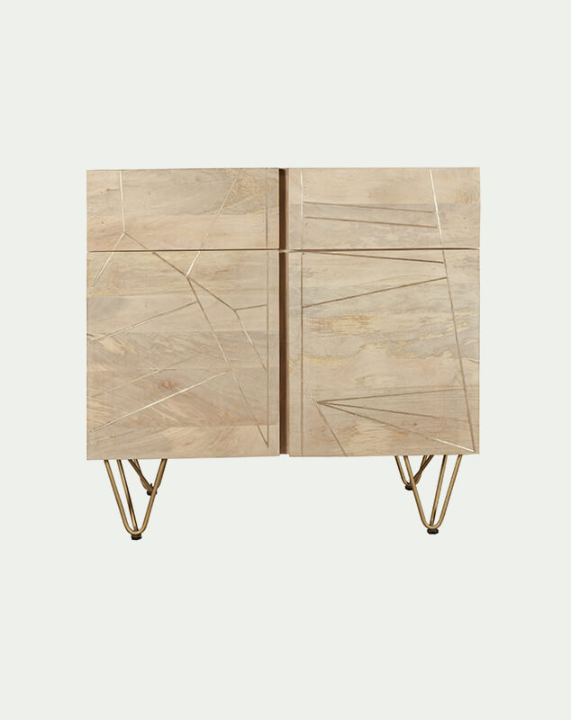 Aureate Light Sideboard from Mocha Home BRC05