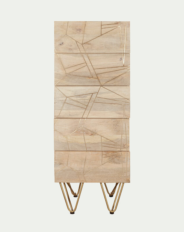 Aureate Light Chest of drawers from Mocha Home UK BRC06