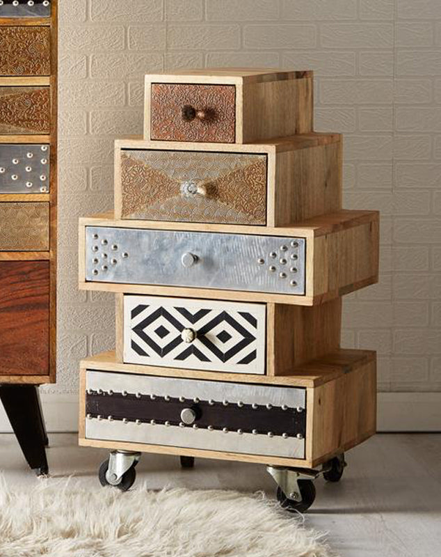 Sorio 5 Drawer Small Chest