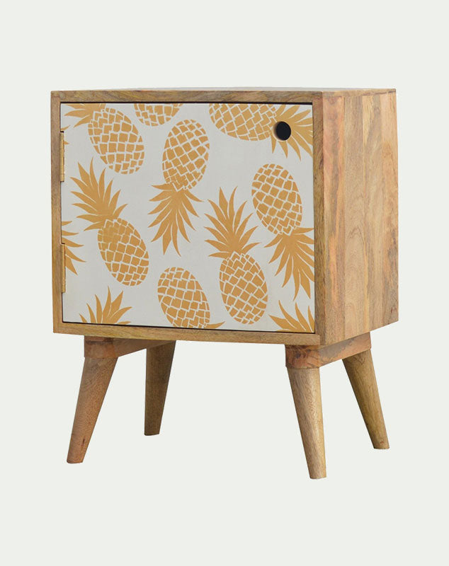 Spike Pineapple Bedside Unit from Mocha Home